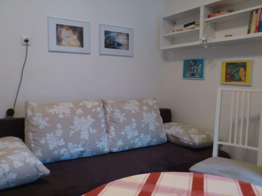 Zimmer 1  Sitzbereich