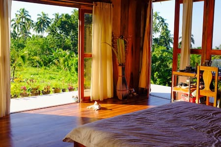 Camiguin Volcano Houses - Panoramic Master Bedroom