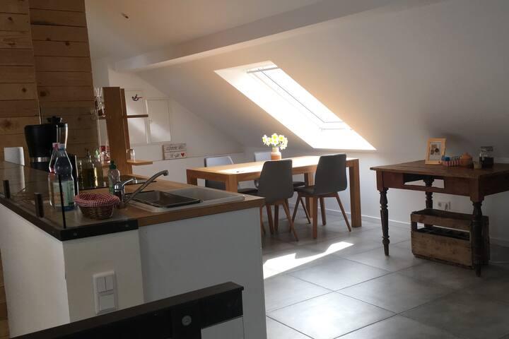 Gemütliche Wohnung in Krefeld, Nähe Düsseldorf