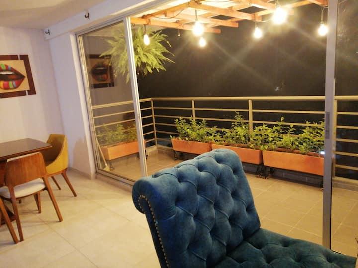 Alquiler apartamento amplio bien ubicado cómodo
