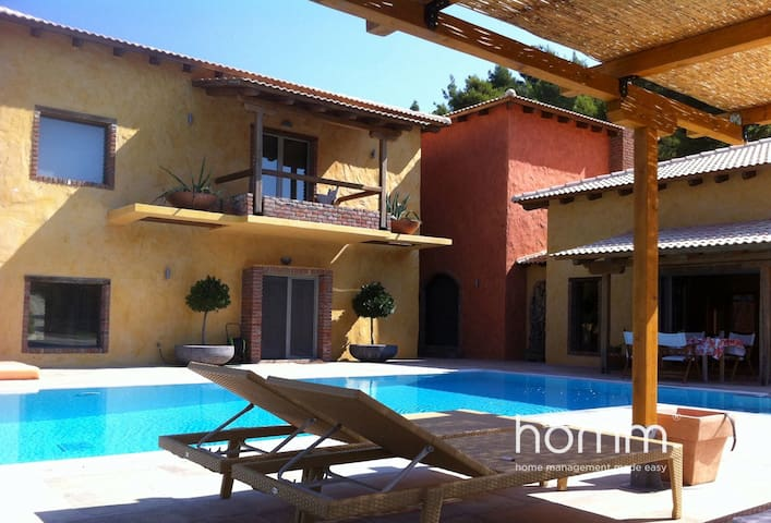 Tranquility homm Cottage Villa in Damia North Evia