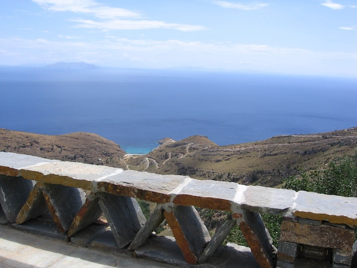 Overlooking Cyclades