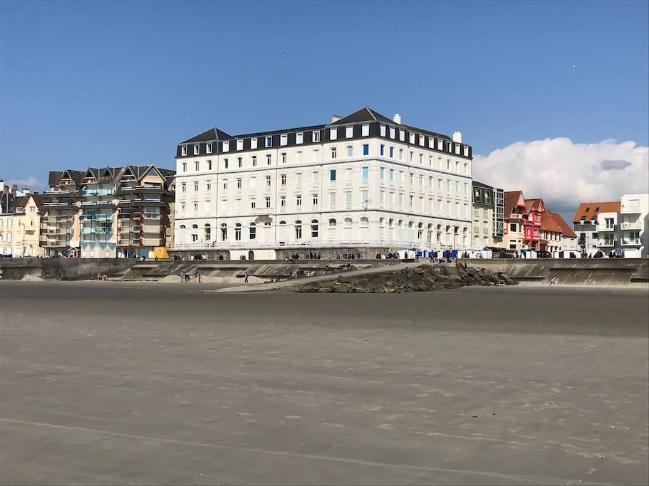 Location Grand Hotel à Wimereux