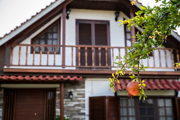 Very cosy 4 bedroom chalet in Nea Irakleia.
