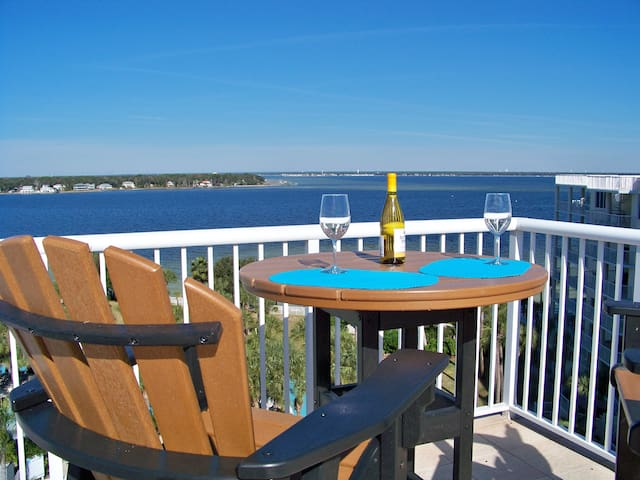 Destin West Penthouse Bay, BBQ on Roof Top terrace - Fort Walton Beach