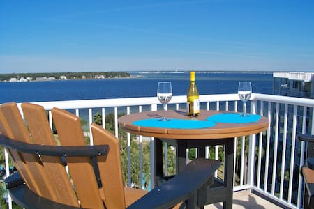 Destin West Penthouse Bay, BBQ on Roof Top terrace - Fort Walton Beach - Kondominium