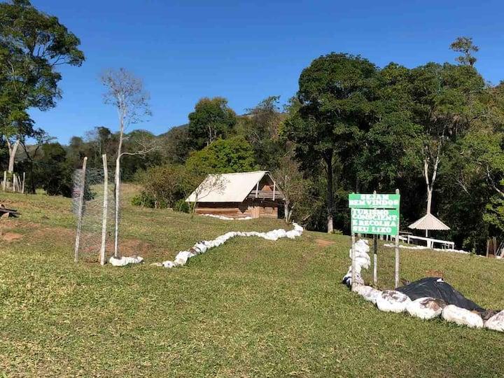 Chalé Rústico próximo ao Pico Agudo