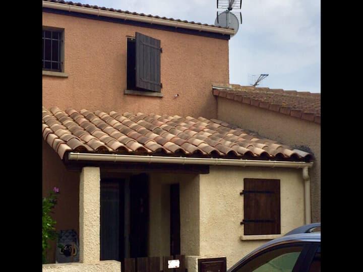 La Franqui T3- Maison de plage, 2  SDB, WiFi, AC