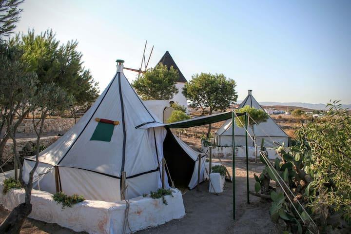 """LA HAIMITA 1, """"fashionable-camping"""""""