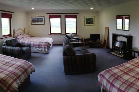 En-suite room sleeps up to 4 at Overton farm.