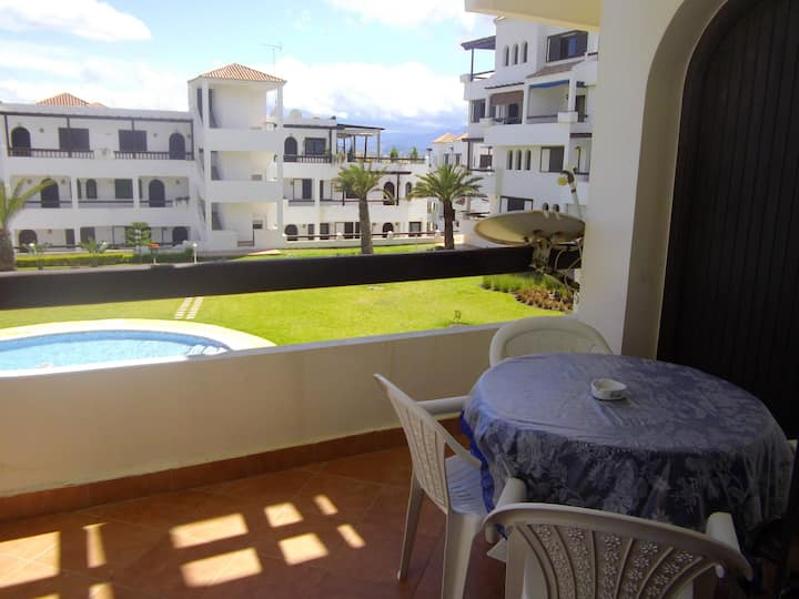 Apartment with 2 bedrooms in Cabo Negro, with private pool