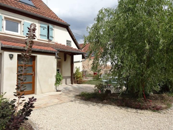 Maison alsacienne proche Vosges et Strasbourg