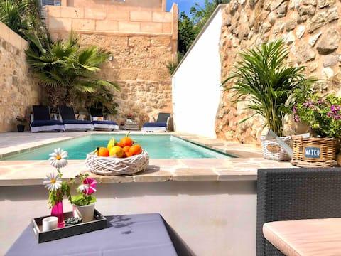 Design-Villa Romantica i hjertet❣af Mallorca️