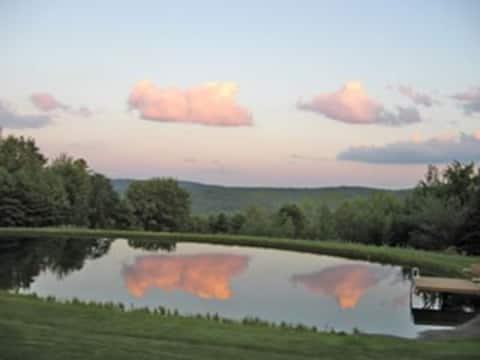 Close to Ithaca, Mountain Top Retreat