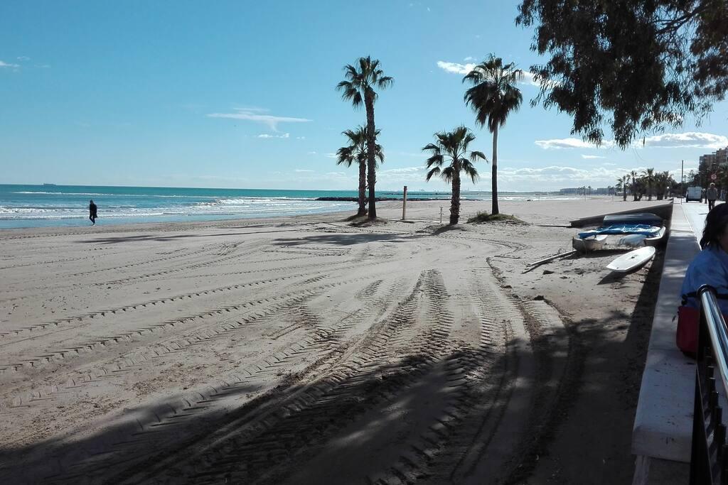 Playa arena fina