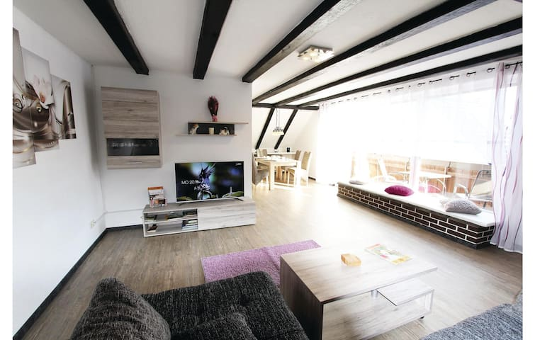 Amazing home in Marienmünster with Sauna, WiFi and 2 Bedrooms