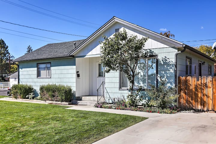 Escape to this completely renovated 2BR, 1BA Carson City vacation rental duplex.