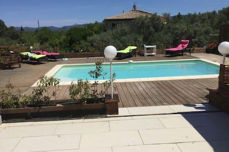 mazet  2 a6pers  spa piscine discotheque