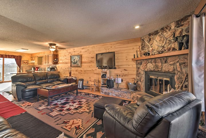 NEW! Red River Retreat in Town w/ Mtn Views + Yard
