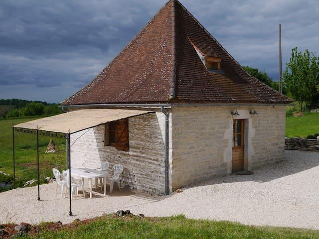 Pile à grain typique en Quercy