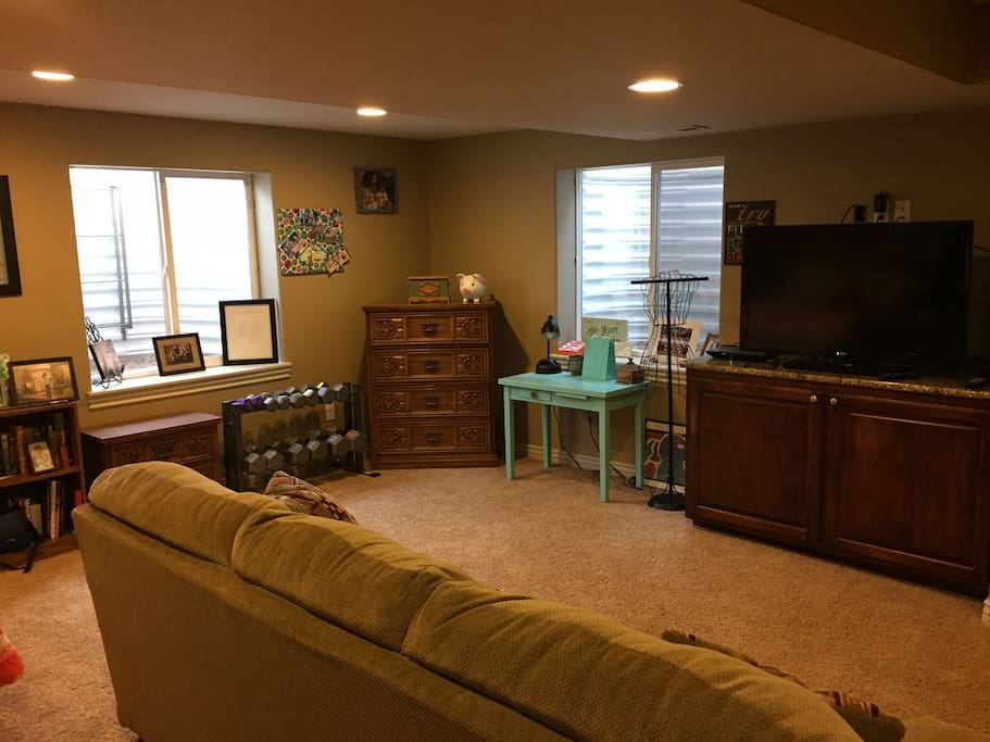 beautiful and comfortable finished basement houses for