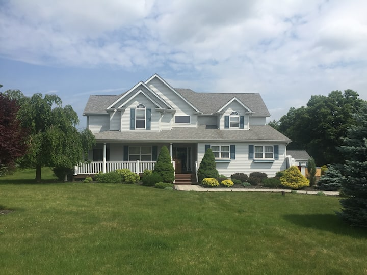 Poconos Mountain Home with Hot Tub and Game Room