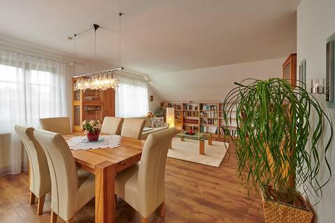 Komfortable Wohnung 88 m2 mit Balk.