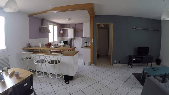 house 5 min from Grenoble center