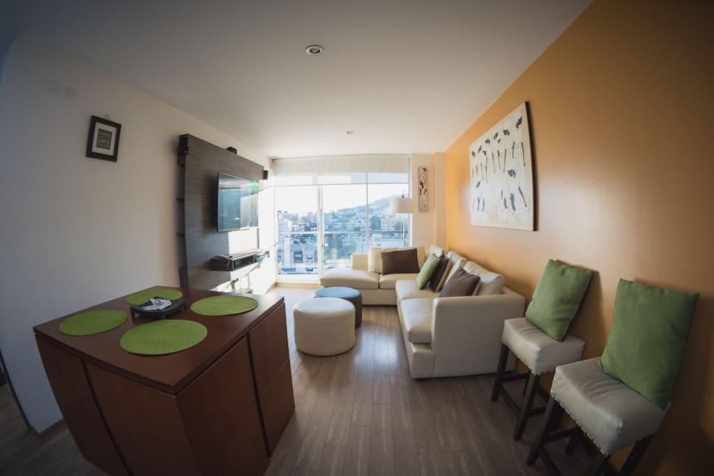 Sala Comedor - Living-Room Dinning Room