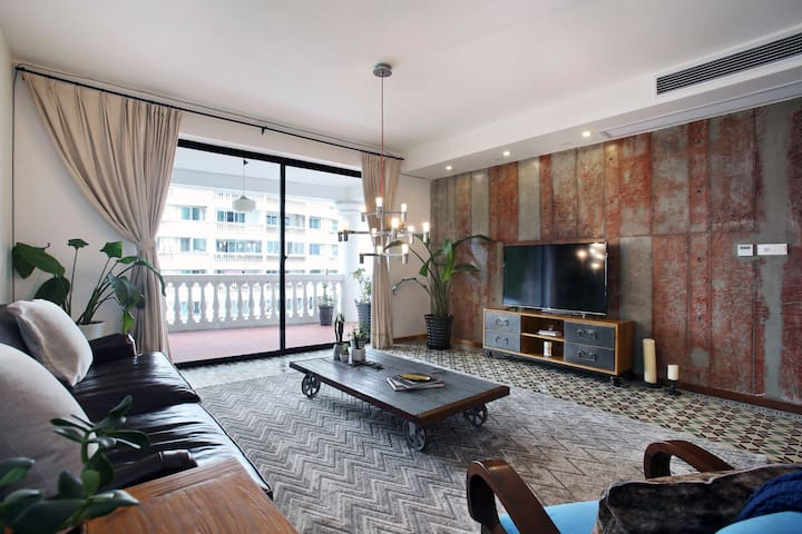 NEW: Large Room in Eclectic Design Apartment - Shanghai - Leilighet