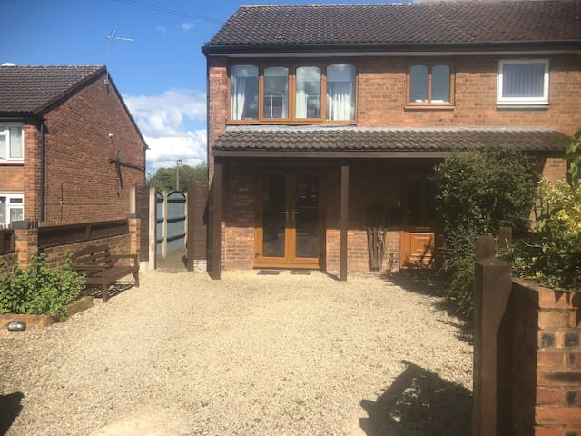 Semi detached in a village, 15min drive Lichfield
