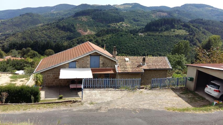 maison indépendante exposition plein sud - Le Cheylard - Haus