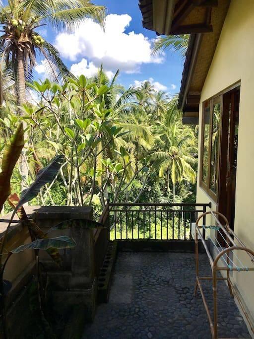 2bedroom!!!! magnificient view,pool,breakfast,ubud