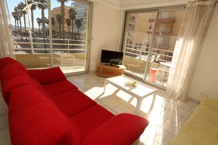 Superbe Appartement 6 pers vue mer et ville