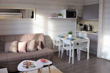 Studio cosy 4 Pers proche Marché et centre + WIFI