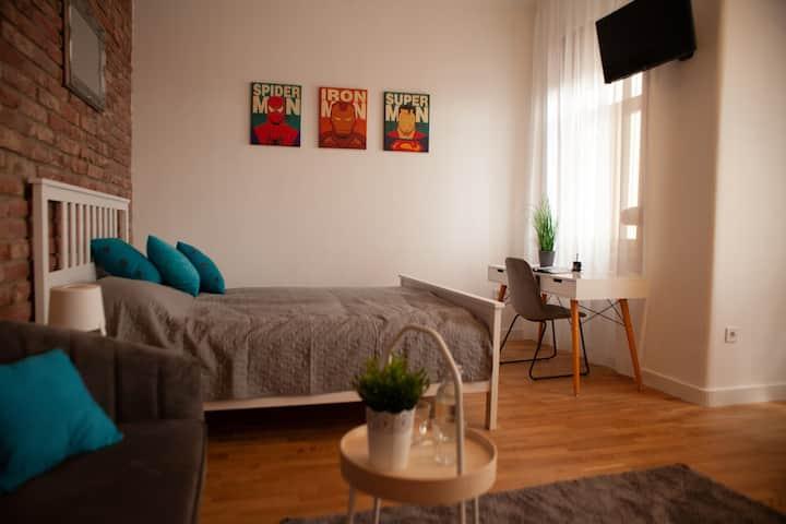 Marvel Apartment in the center of Debrecen