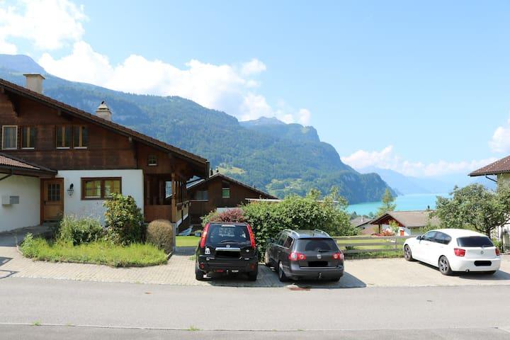 Pure Swiss at the beautiful Lake of Brienz