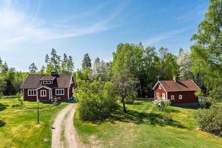 Idyll vid Helge å -  6 km utanför Älmhult