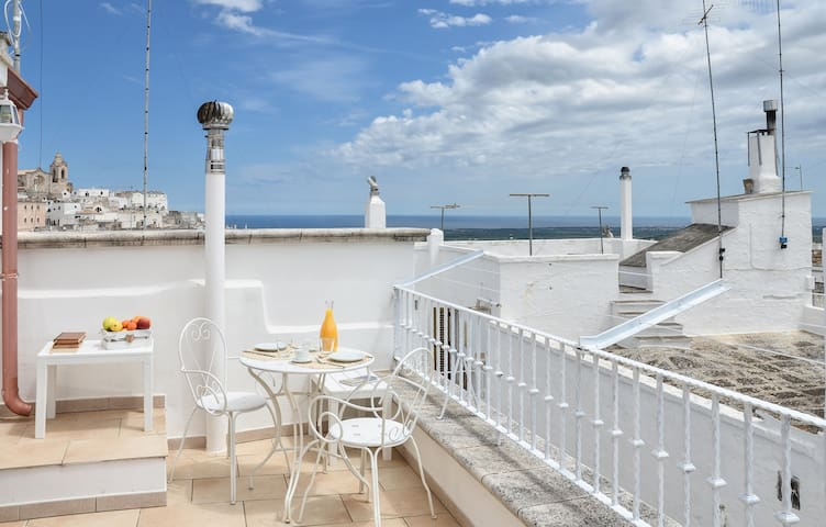 La Terrazza del Marinaio - Sea views!