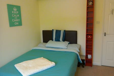 Double Room with desk, TV  & private bathroom