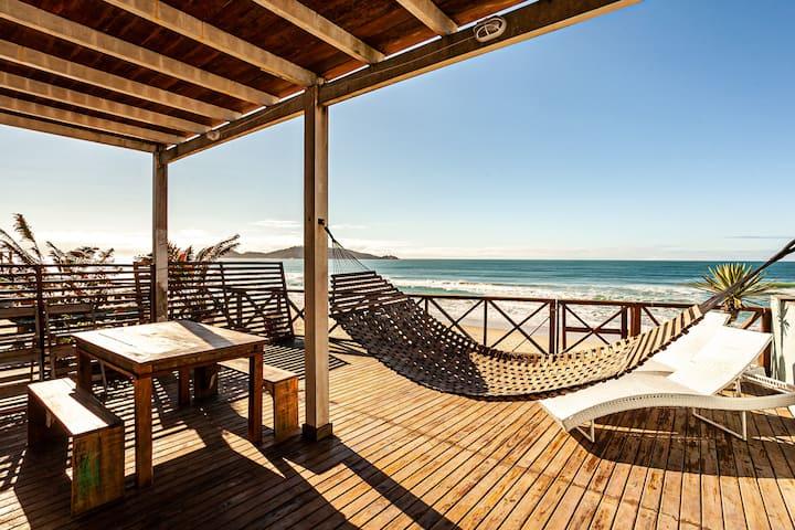 Casa na Areia do Campeche - Vista pro Mar