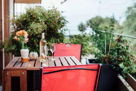STUDIO ETXOLA  vue mer et montagne - Hendaye - Appartement