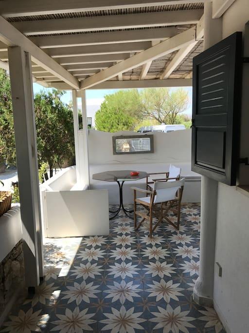 Front Door Terrace