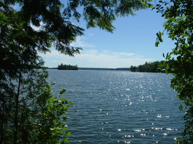 Nature Lovers Paradise Lake Island - West Gardiner - Srub