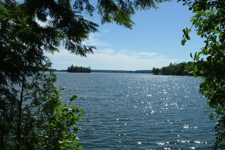 Nature Lovers Paradise Lake Island - West Gardiner - Stuga