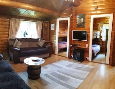 Snowdonia Log Cabin