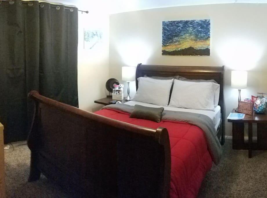 Relaxing Guest Bedroom