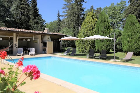 Stunning country farmhouse with heated pool
