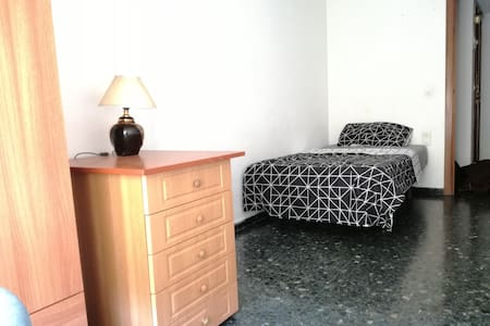 Spacious and confortable single room - València - 公寓