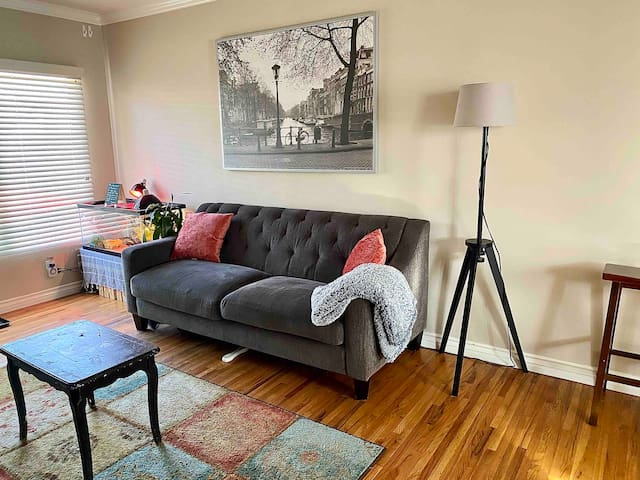 Bright & charming 1 BR APT in a quiet neighborhood